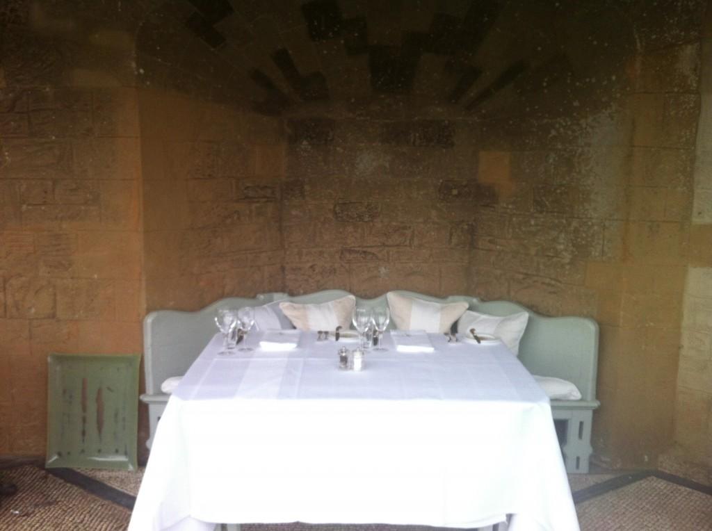 The Endsleigh al fresco dining