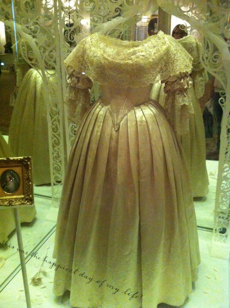 Victoria Revealed - Queen Victoria's Wedding Dress