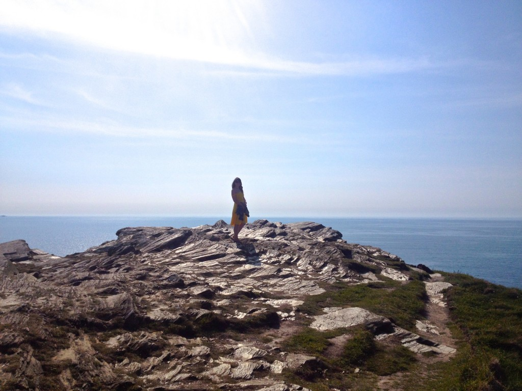 Madeleine Spencer in Tintagel