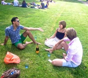 Hyde Park picnic