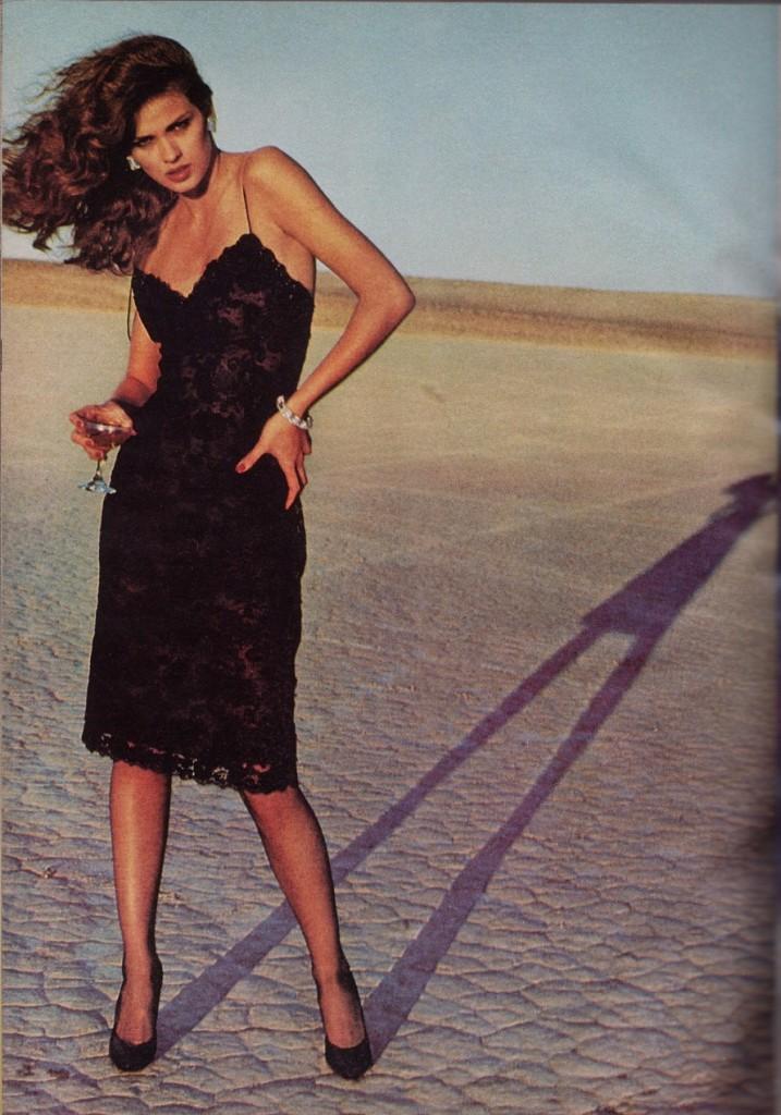 Gia Carangi Vogue 1979