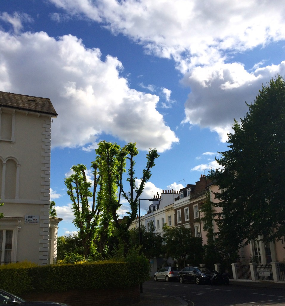 Notting Hill sky
