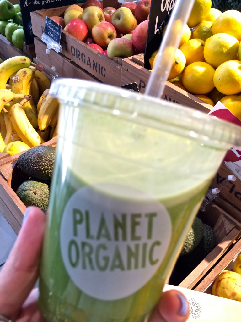 Cleasing Green at Planet Organic