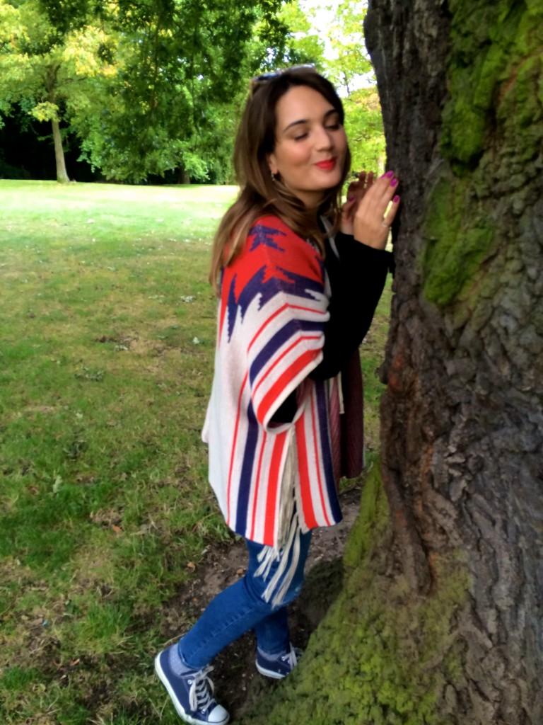 Tree Hugging in Kenwood House
