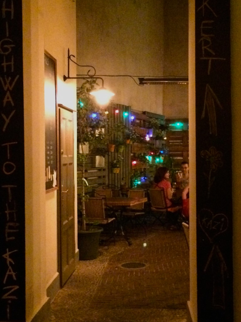 Courtyard Bar Budapest