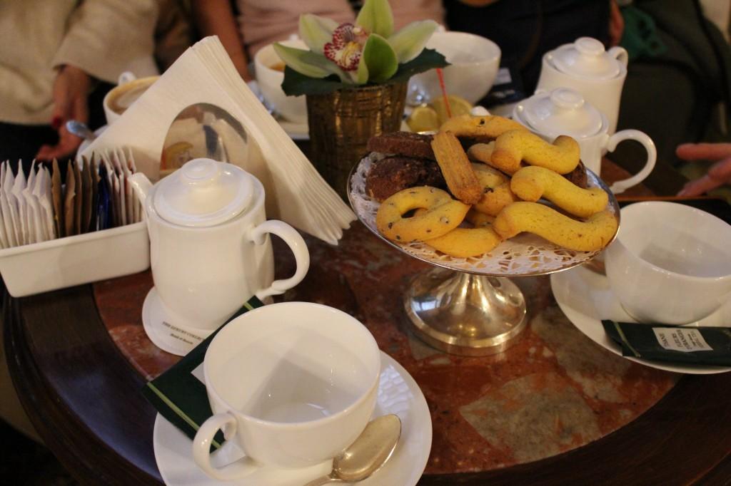 Tea at the Danieli Hotel Venice