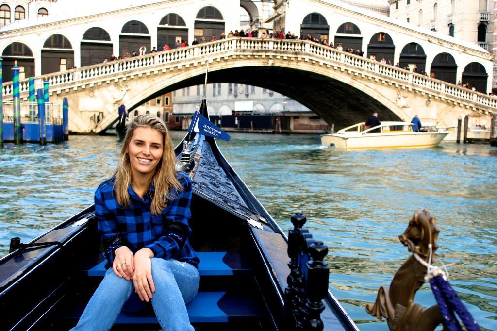 My Sister by the Rialto Bridge