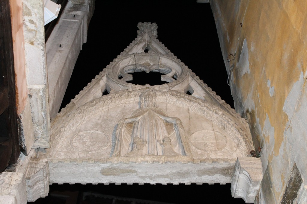 Stonework in Venice