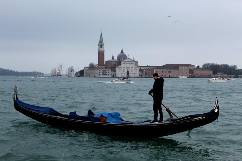 Venice in the rain