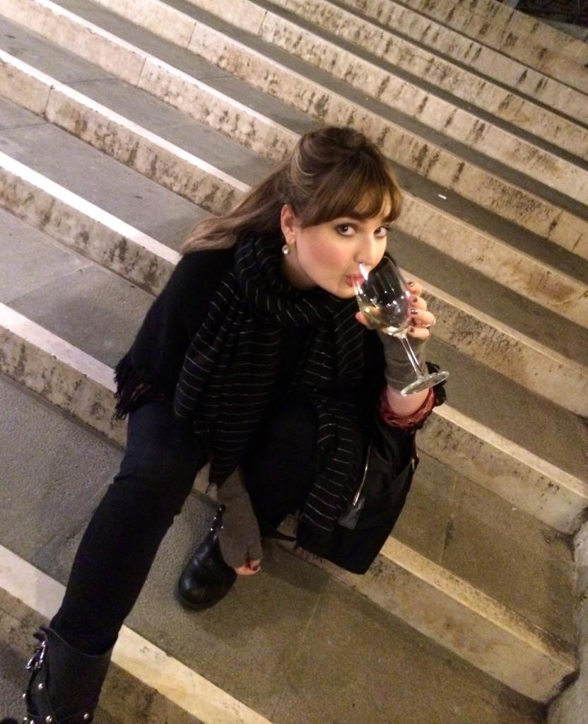 Drinking in Venice