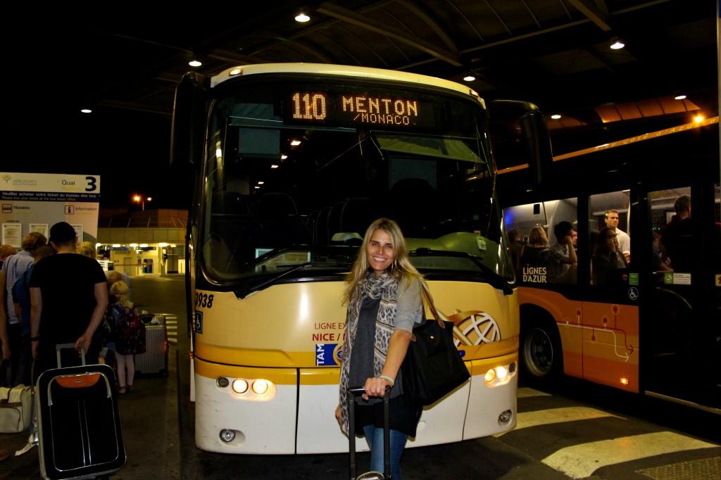 Bus to Menton