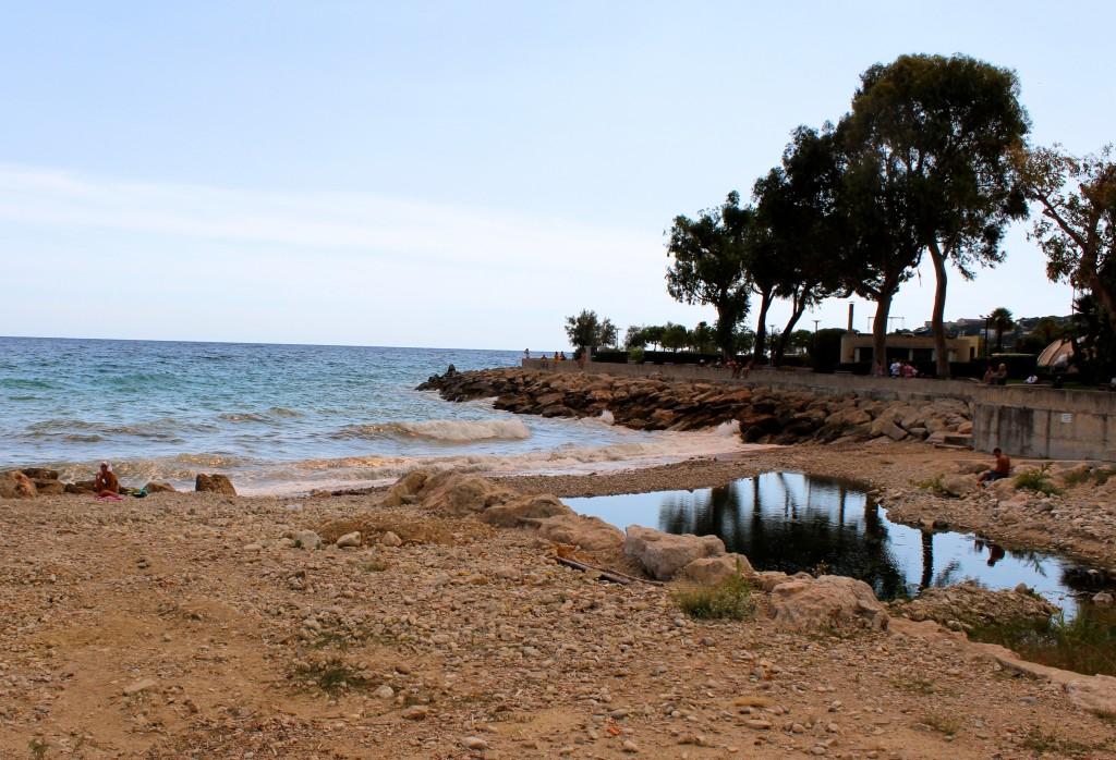 Menton Beach Front