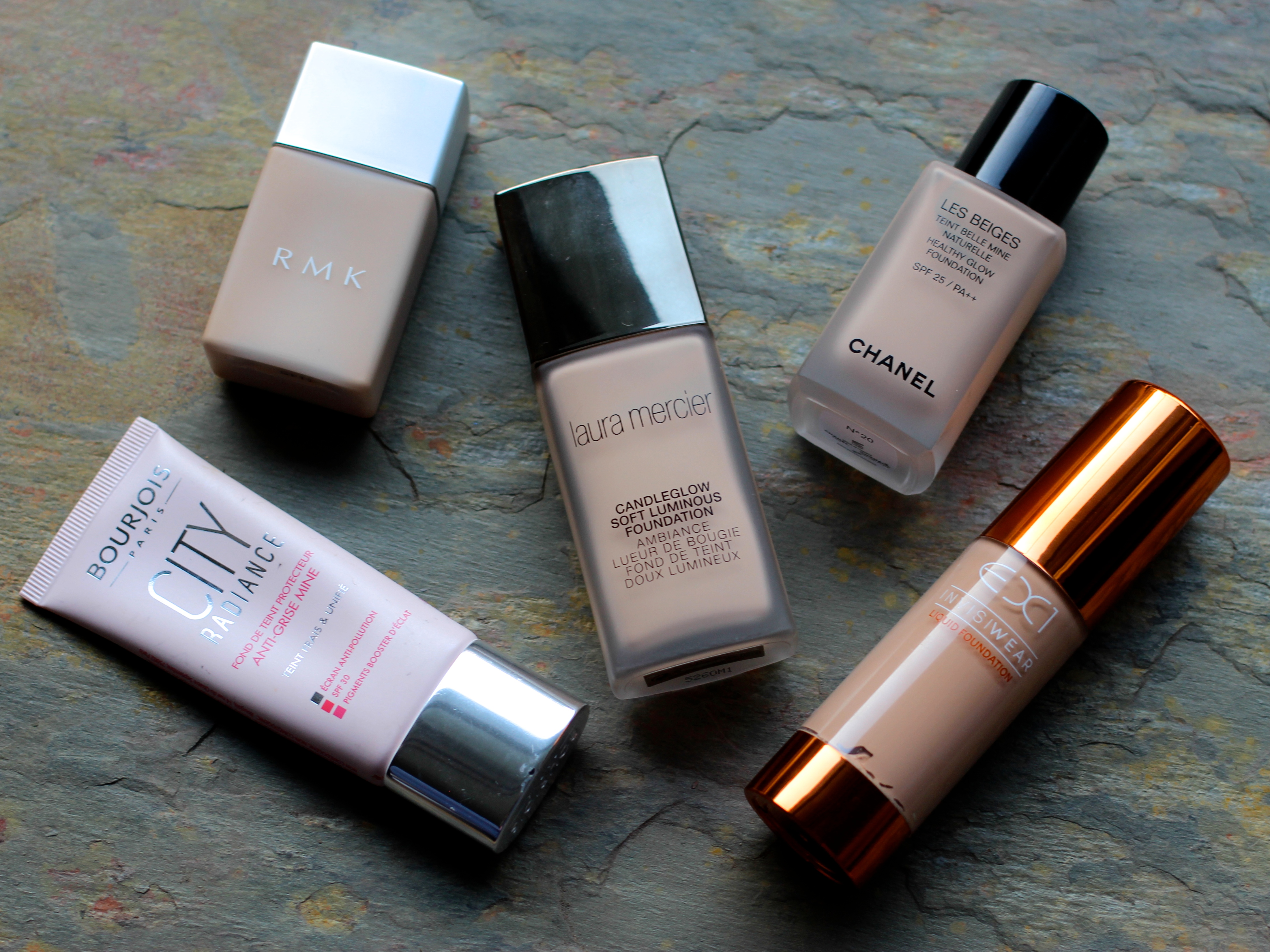 Chanel Healthy Glow, Bourjois City Foundation, New Foundations 2016
