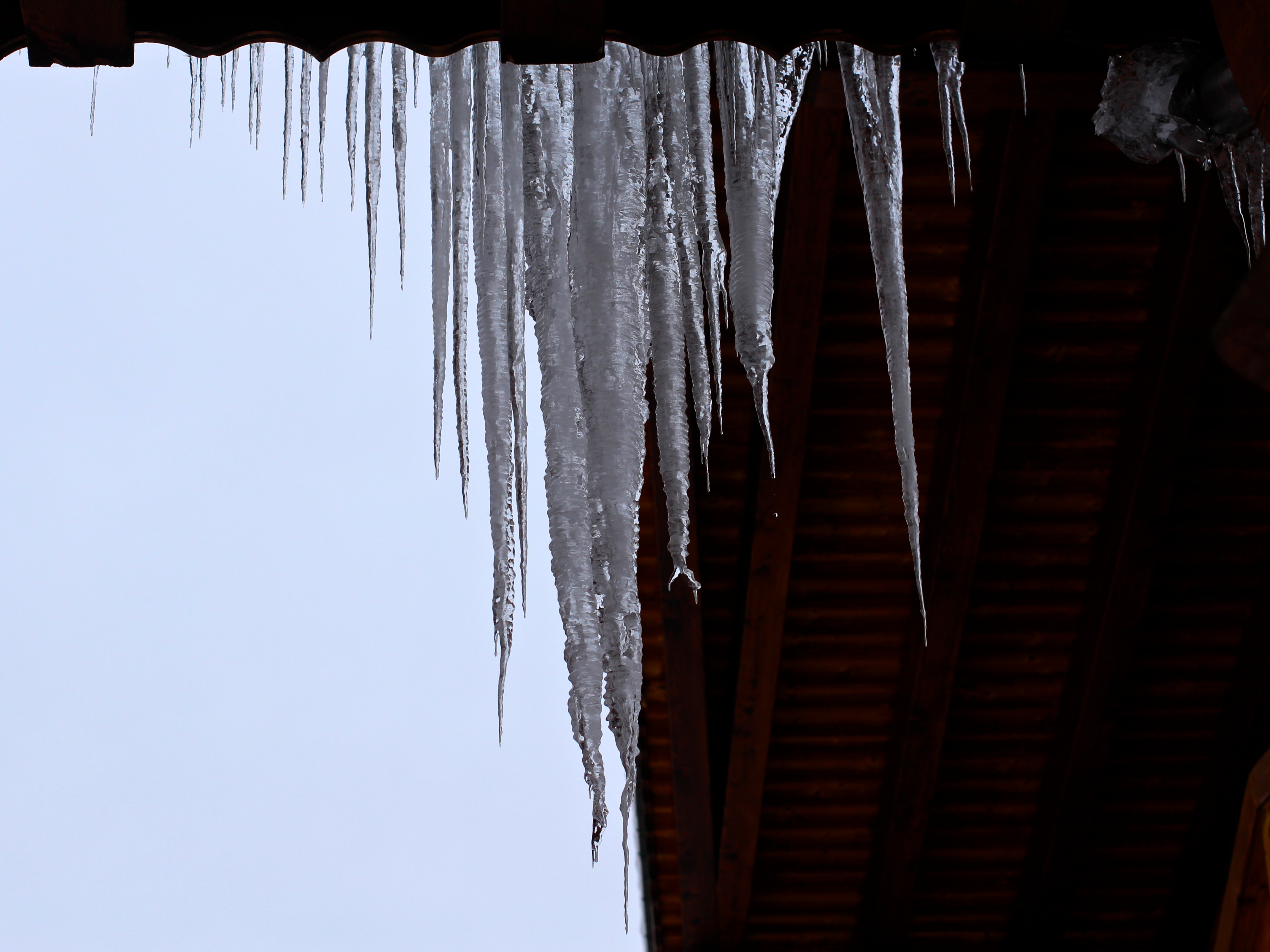 Icicles in Switzerland