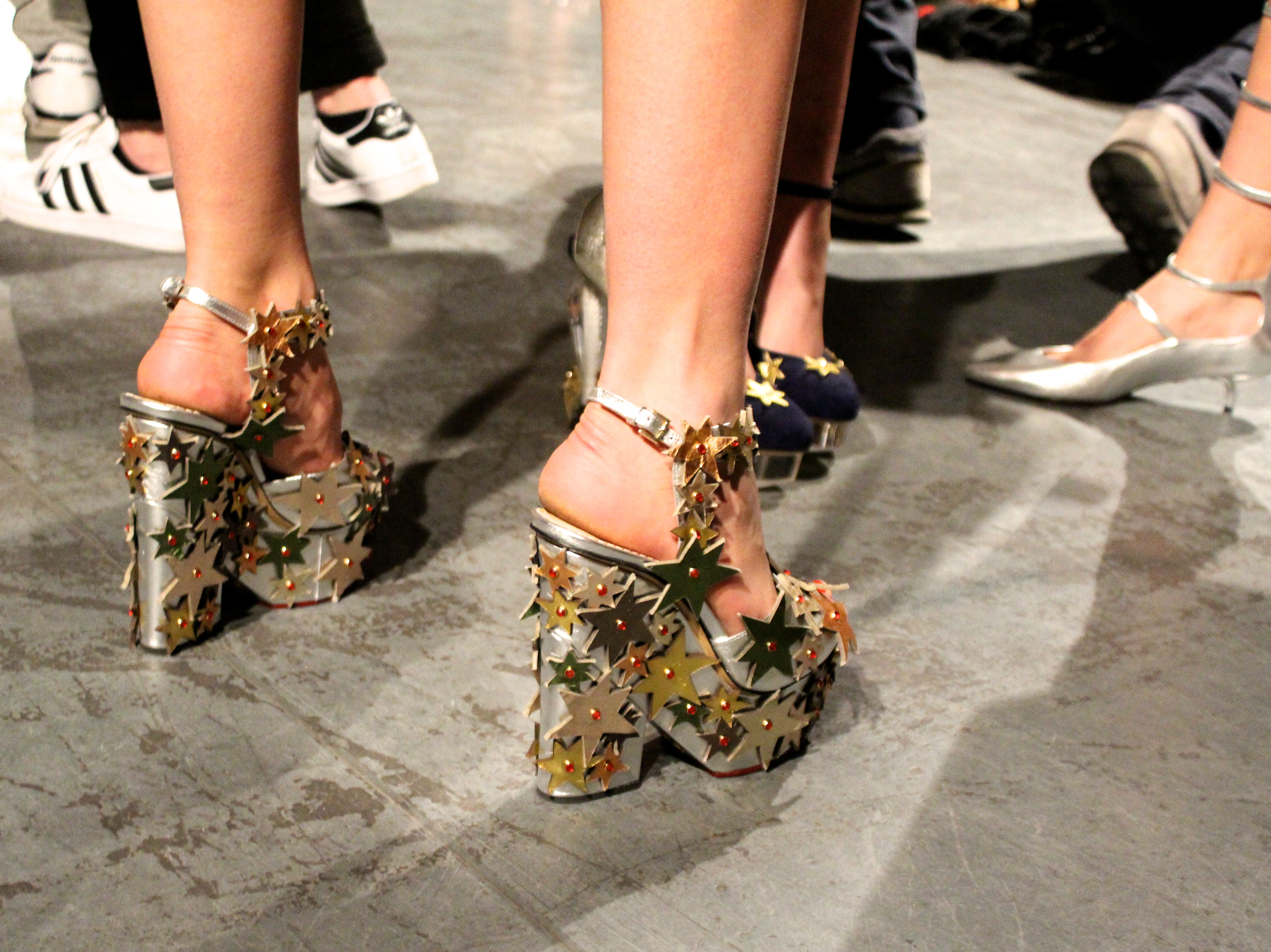 Charlotte Olympia LFW Backstage