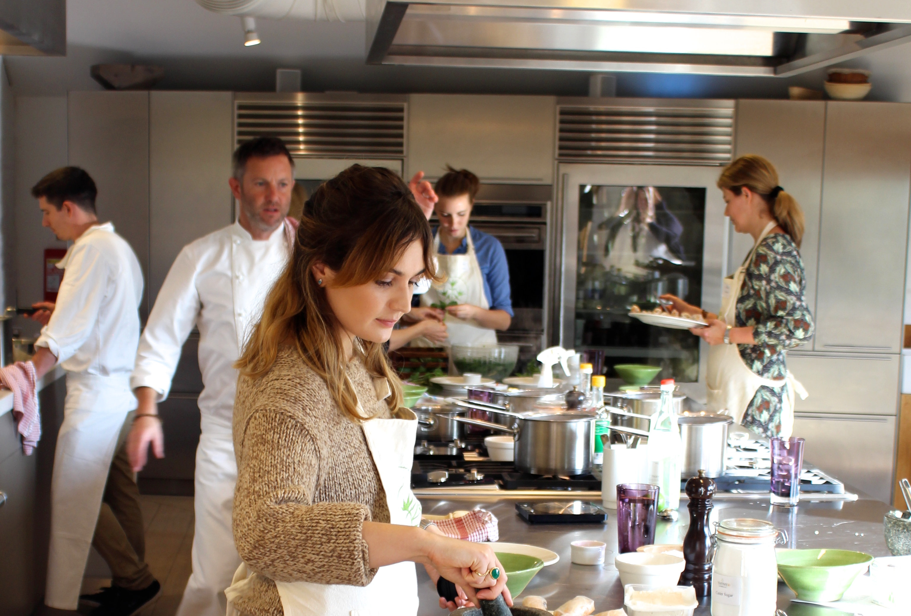Thyme Cooking Classes
