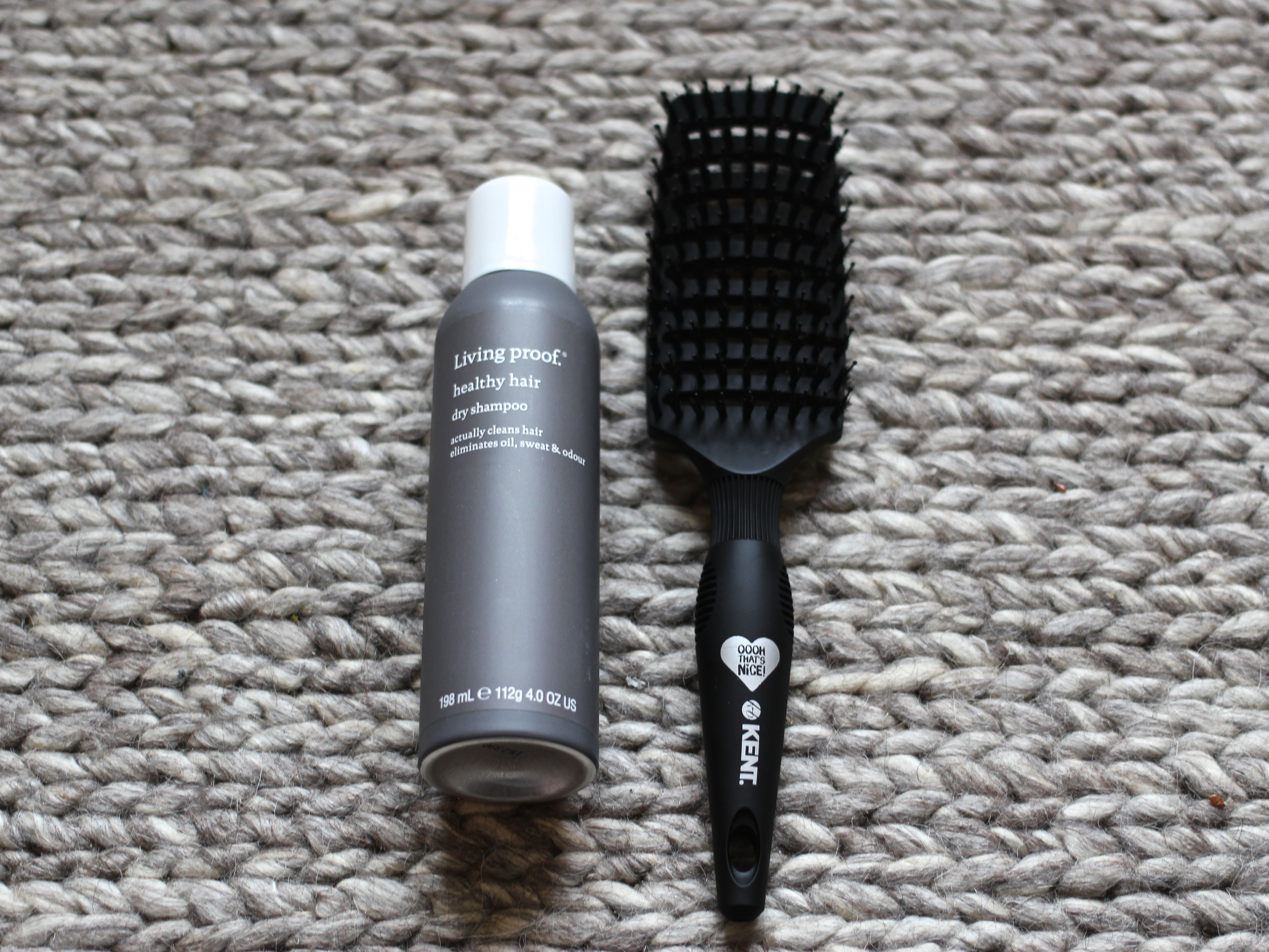 Living Proof Dry Shampoo and Kent Oooh That's Nice Hair Brush Review