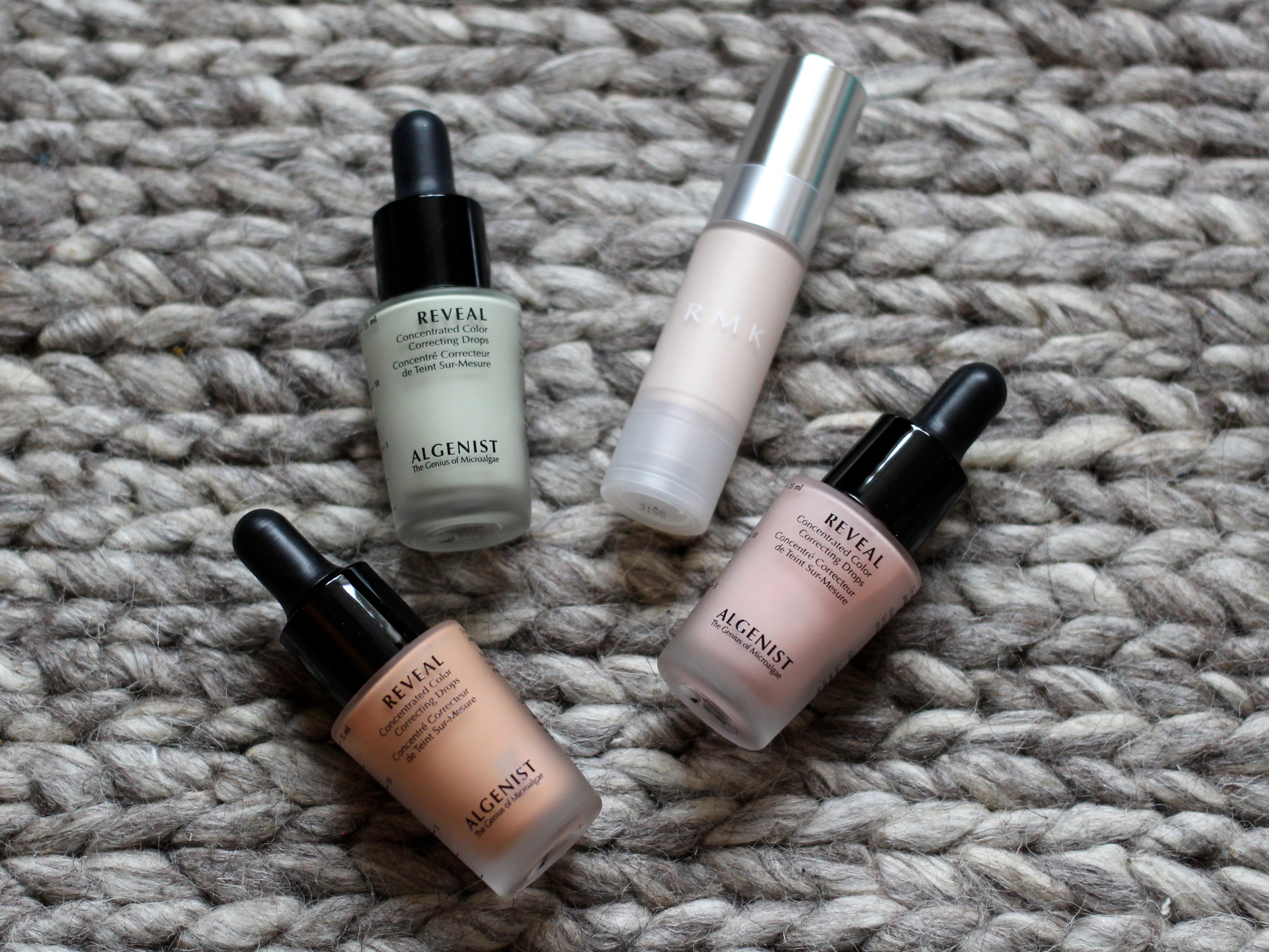 Algenist Reveal and RMK Colour Correcting Primer Review