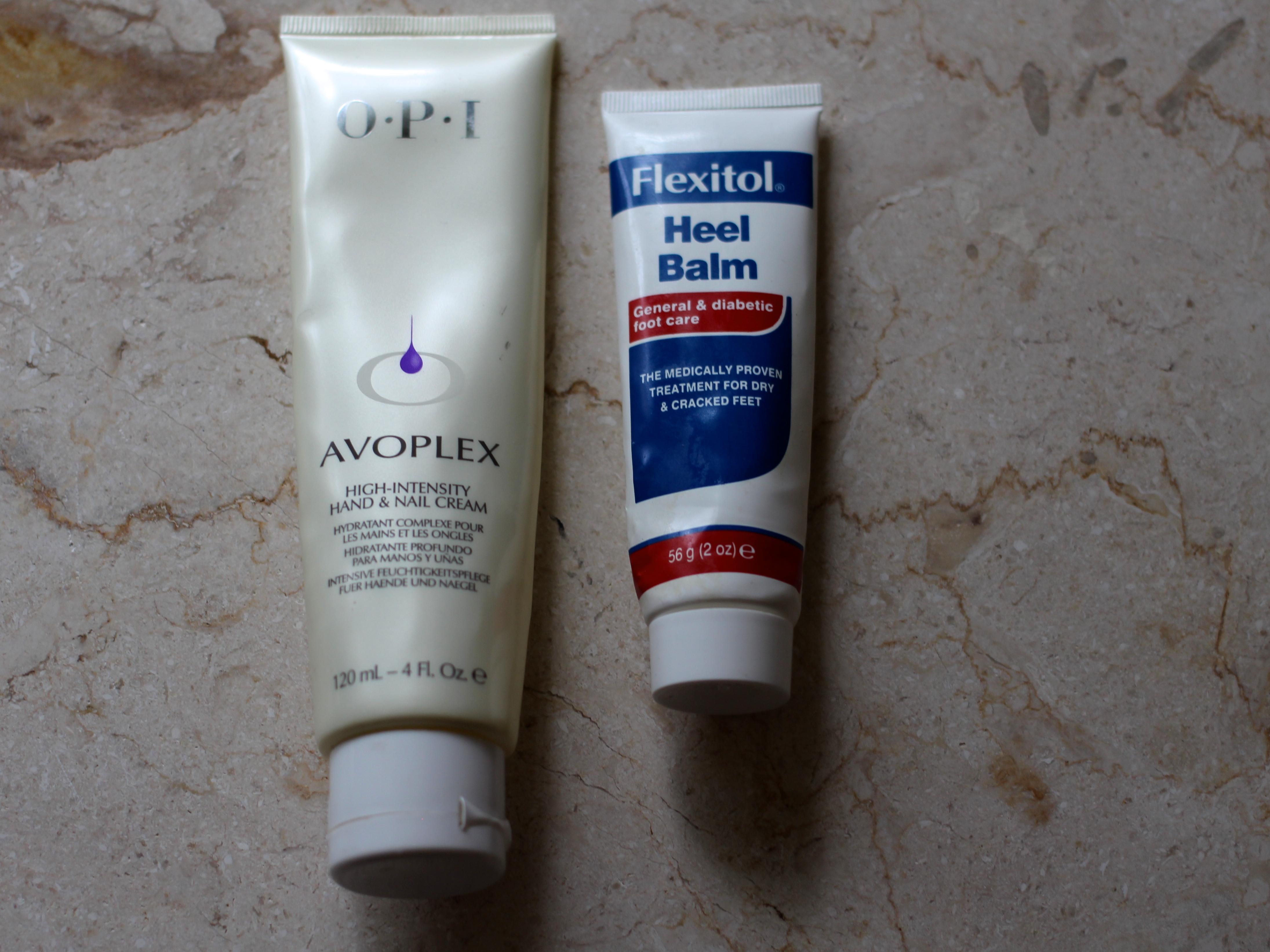 Hand and foot moisturiser