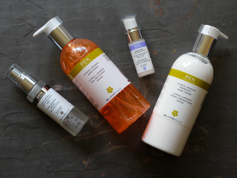REN pollution spray review