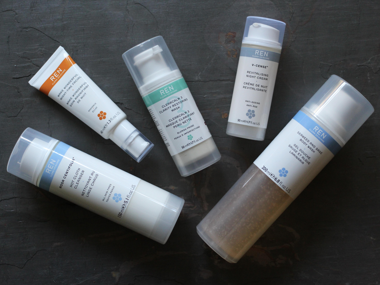 REN evening skincare review