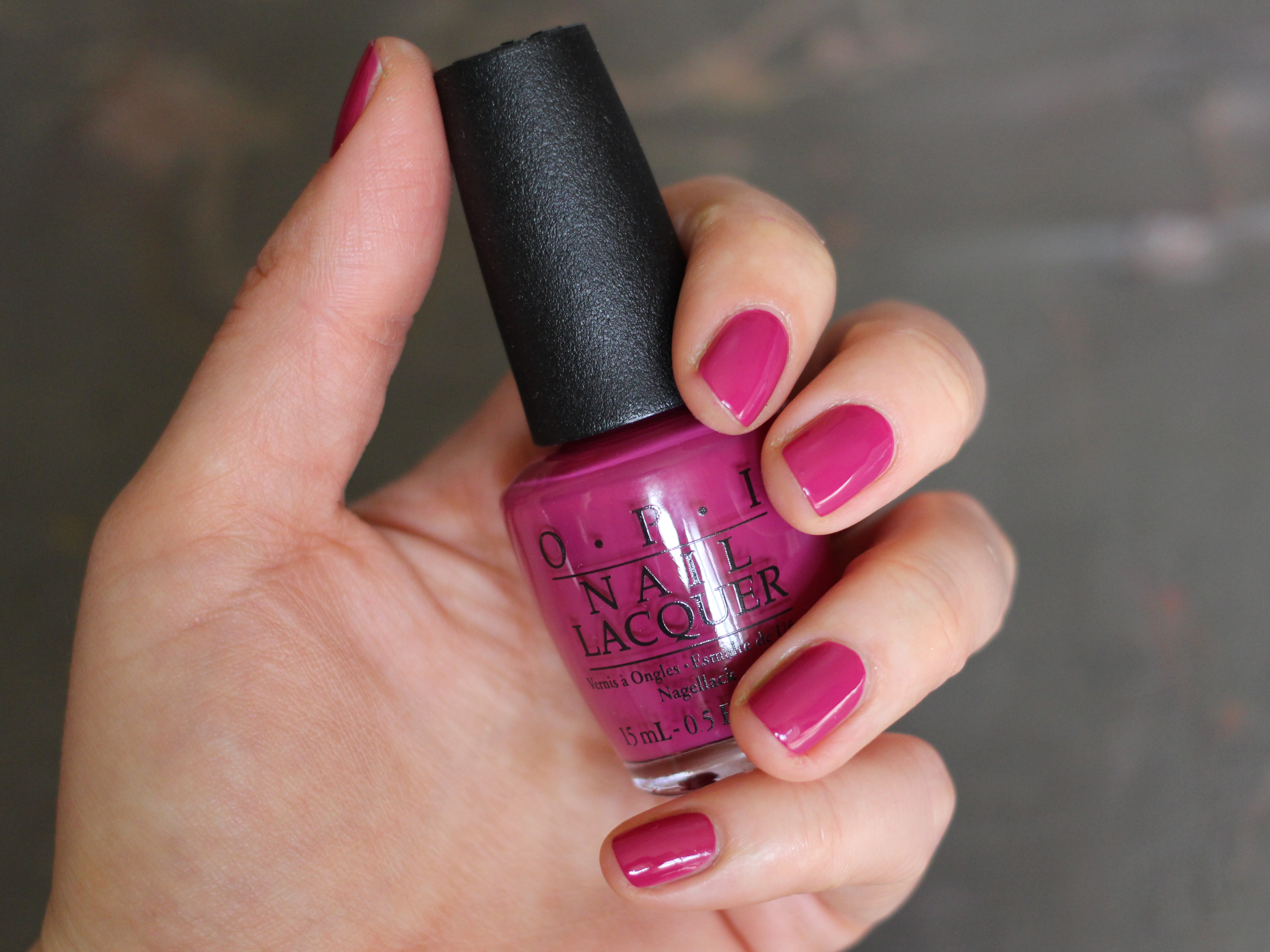 OPI Spare Me A French Quarter Swatch