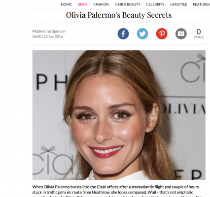 Olivia Palermo Interview