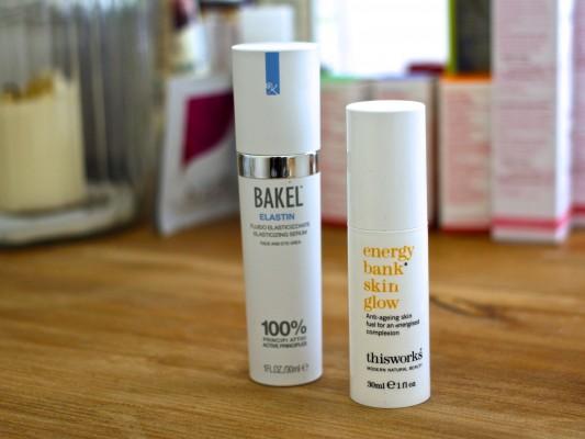 Best Serums 2016 Bakel Elastin and This Works Energy Bank Skin Glow