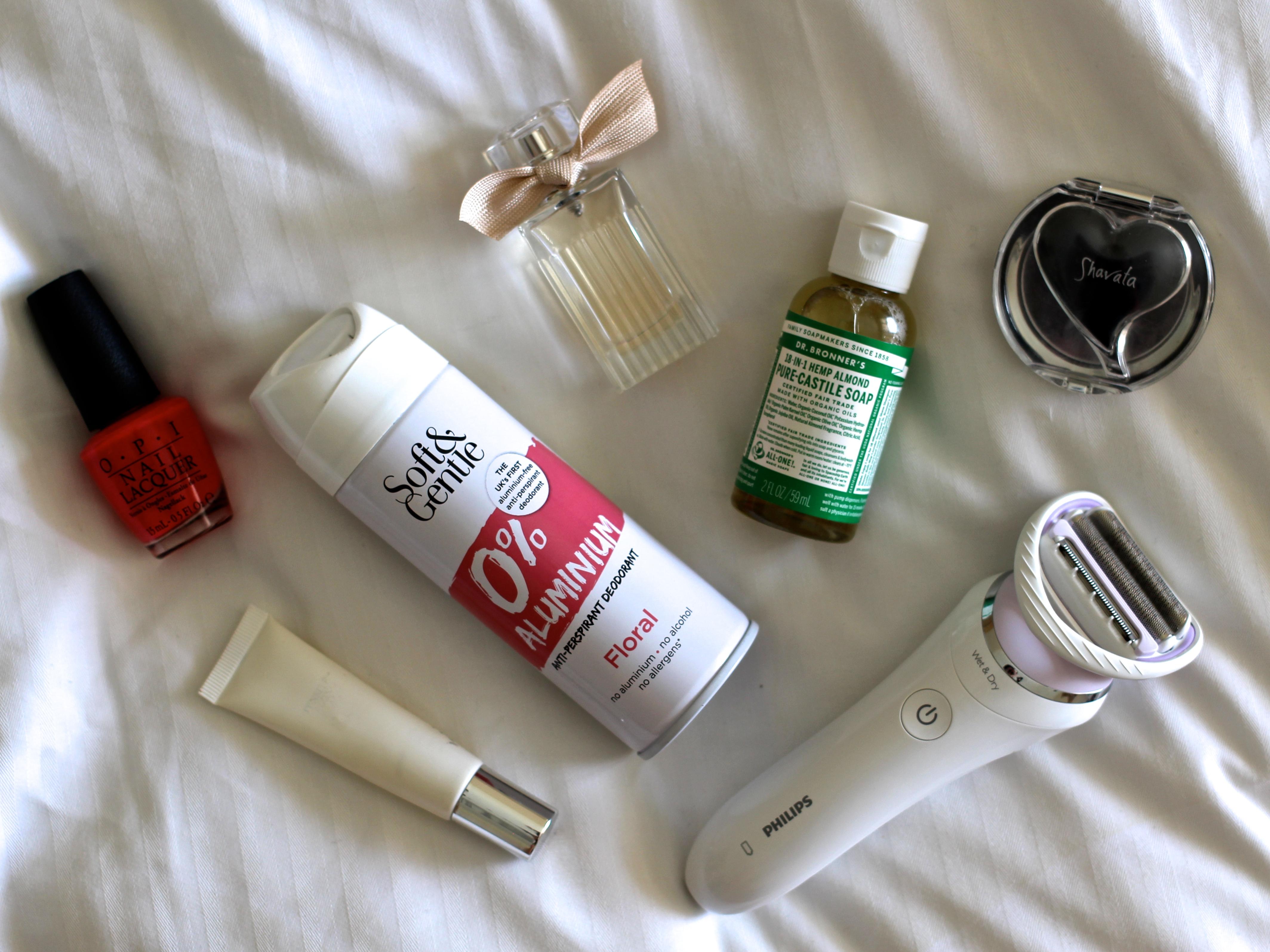 Travel Beauty Essentials