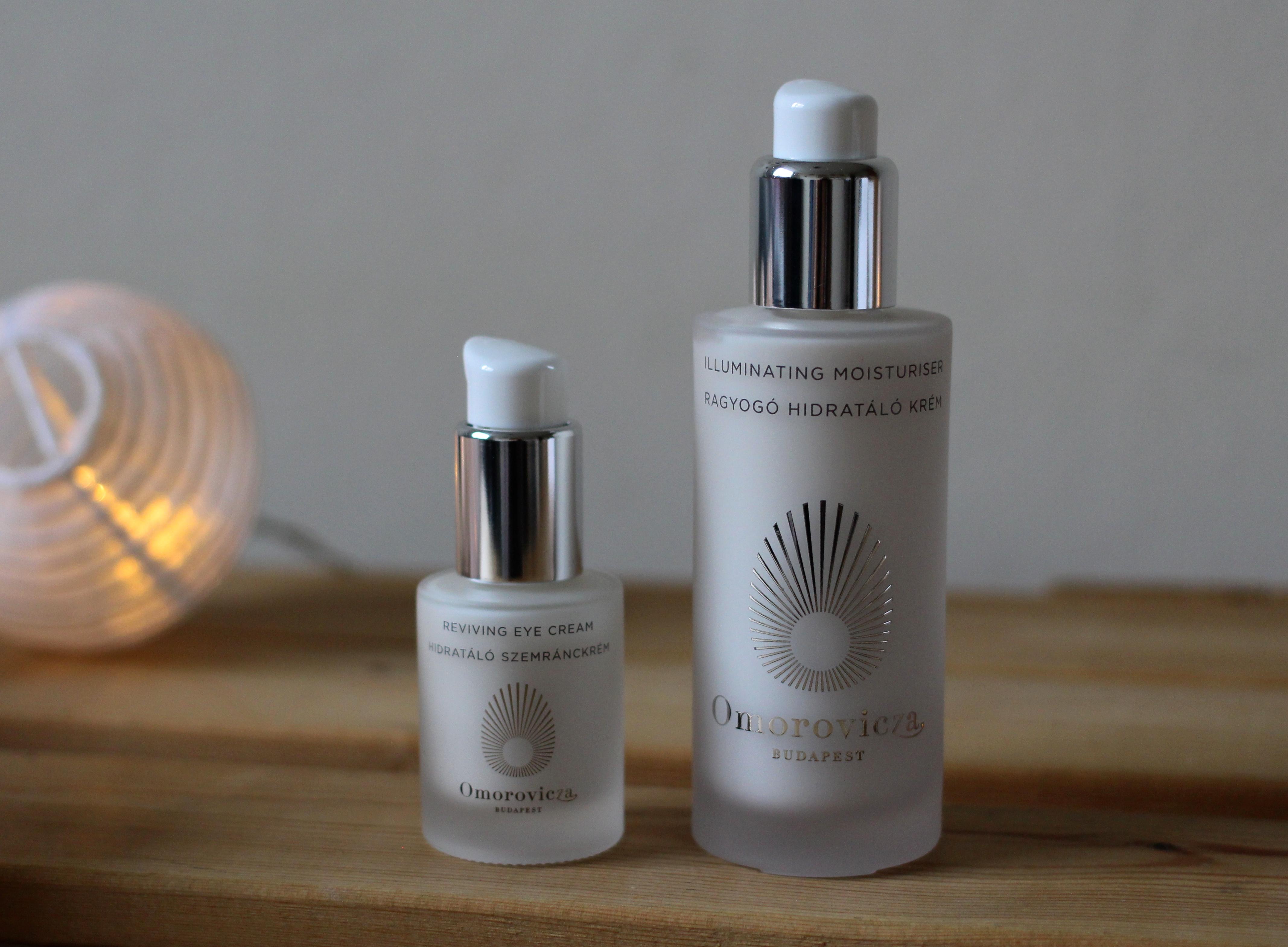 Omorovicza Moisturiser and Eye Cream Review