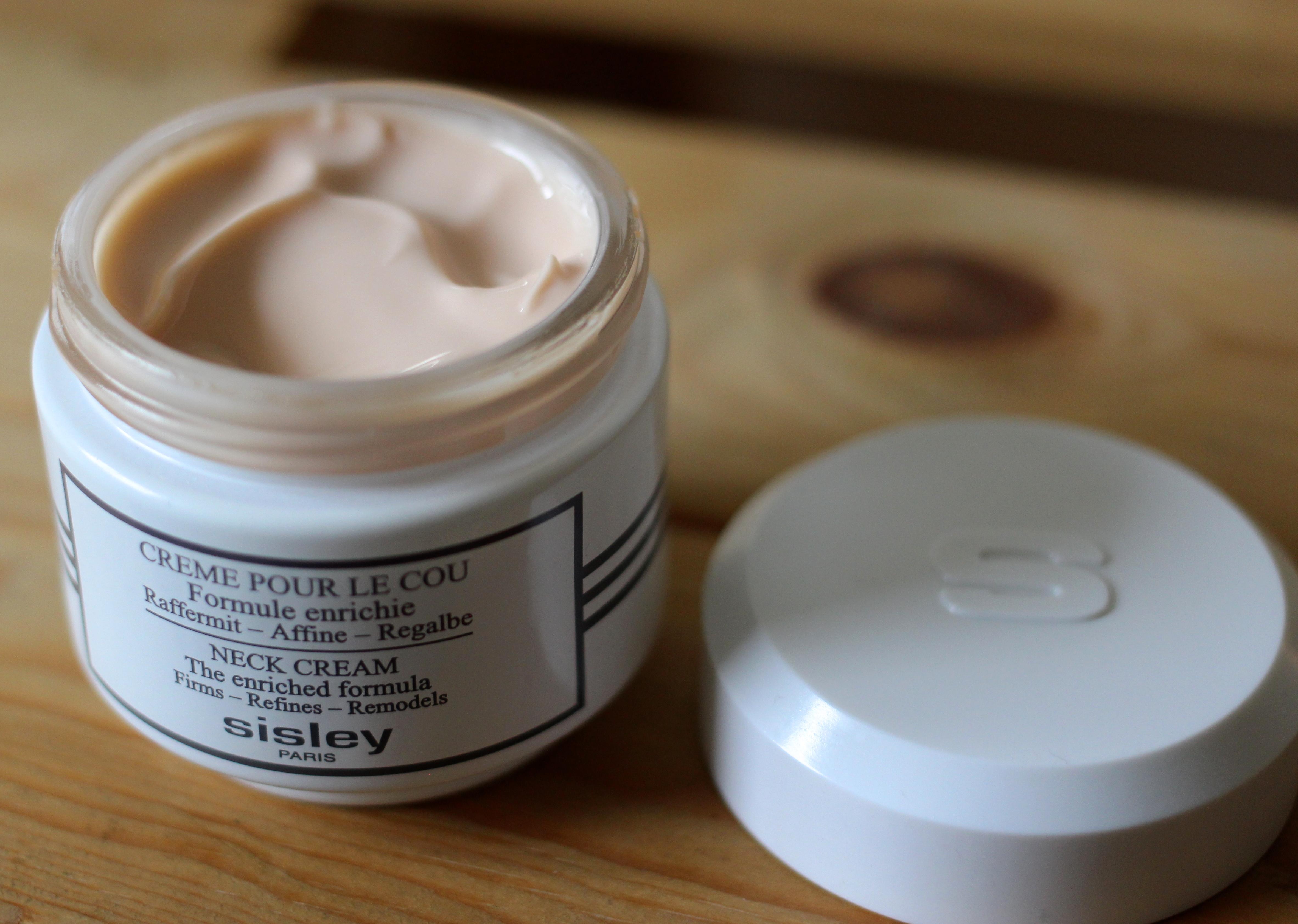 Sisley Neck Cream Review