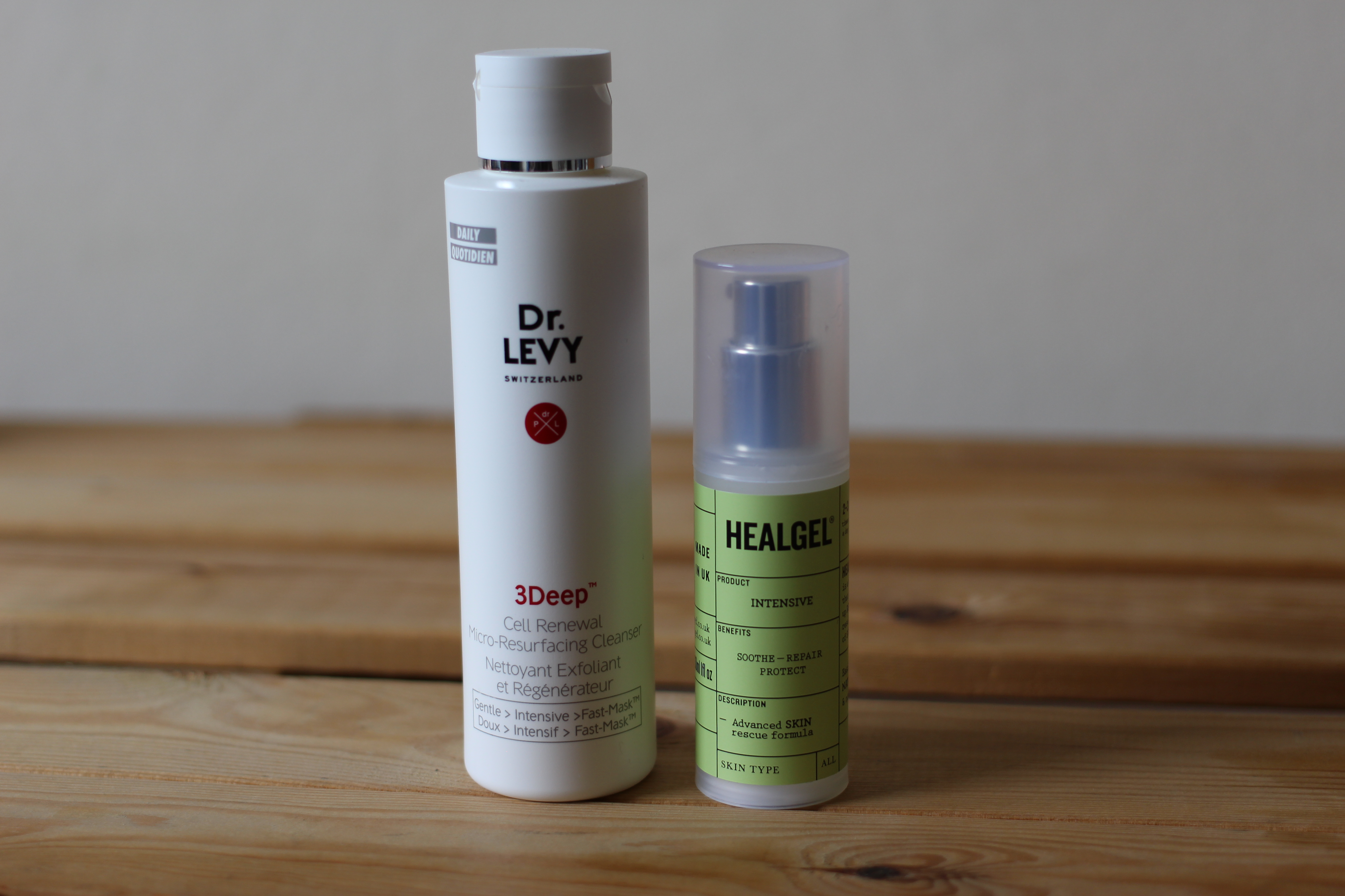 Dr Levy Cleanser and HealGel Review