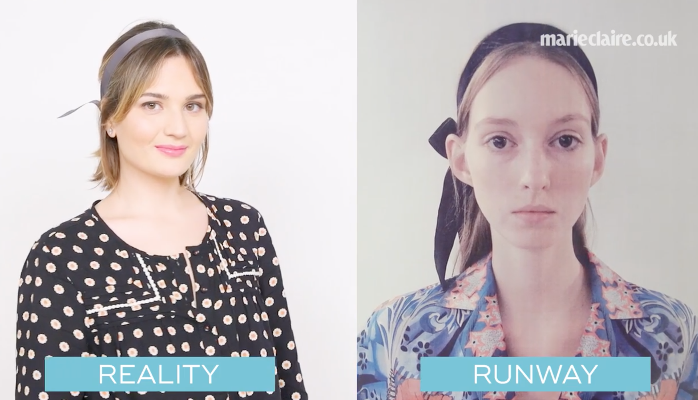 Runway to Reality Marie Claire