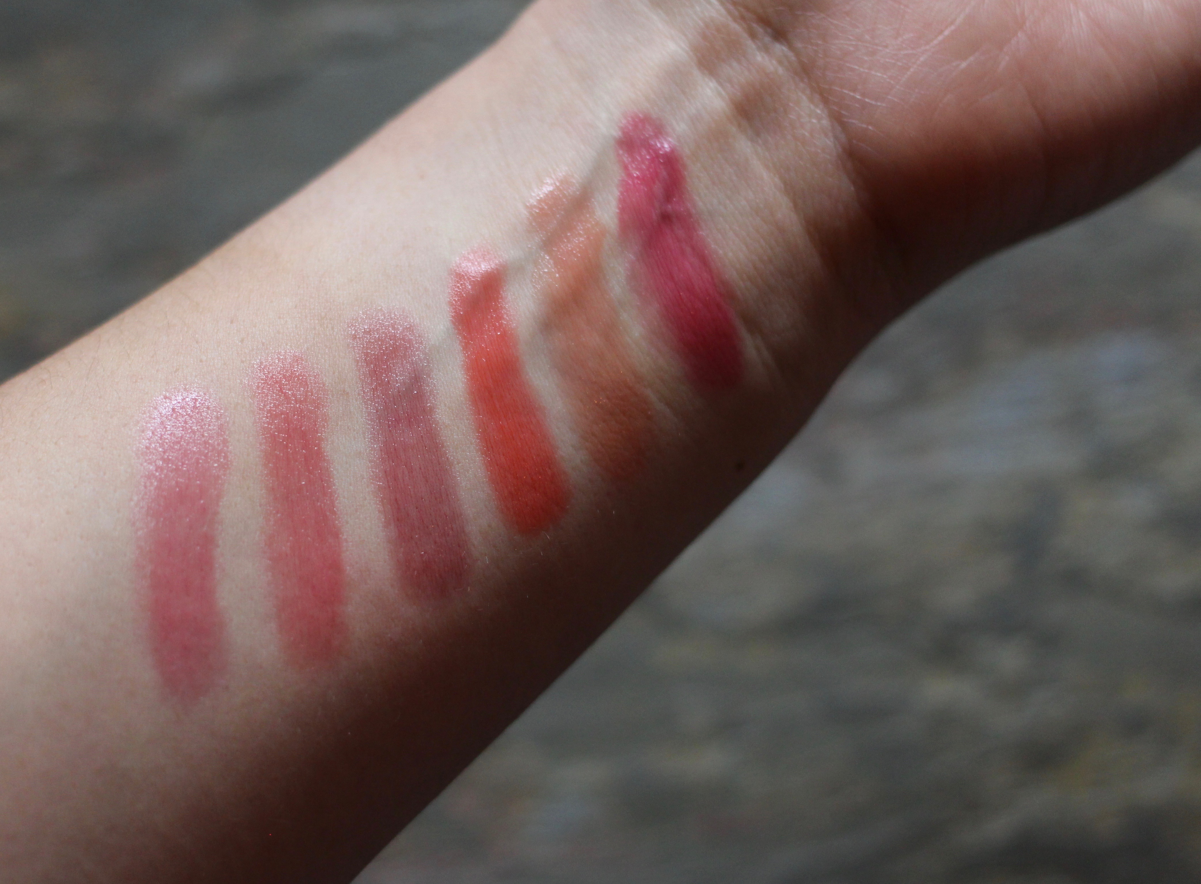 Tom Ford Lip Balm Swatches