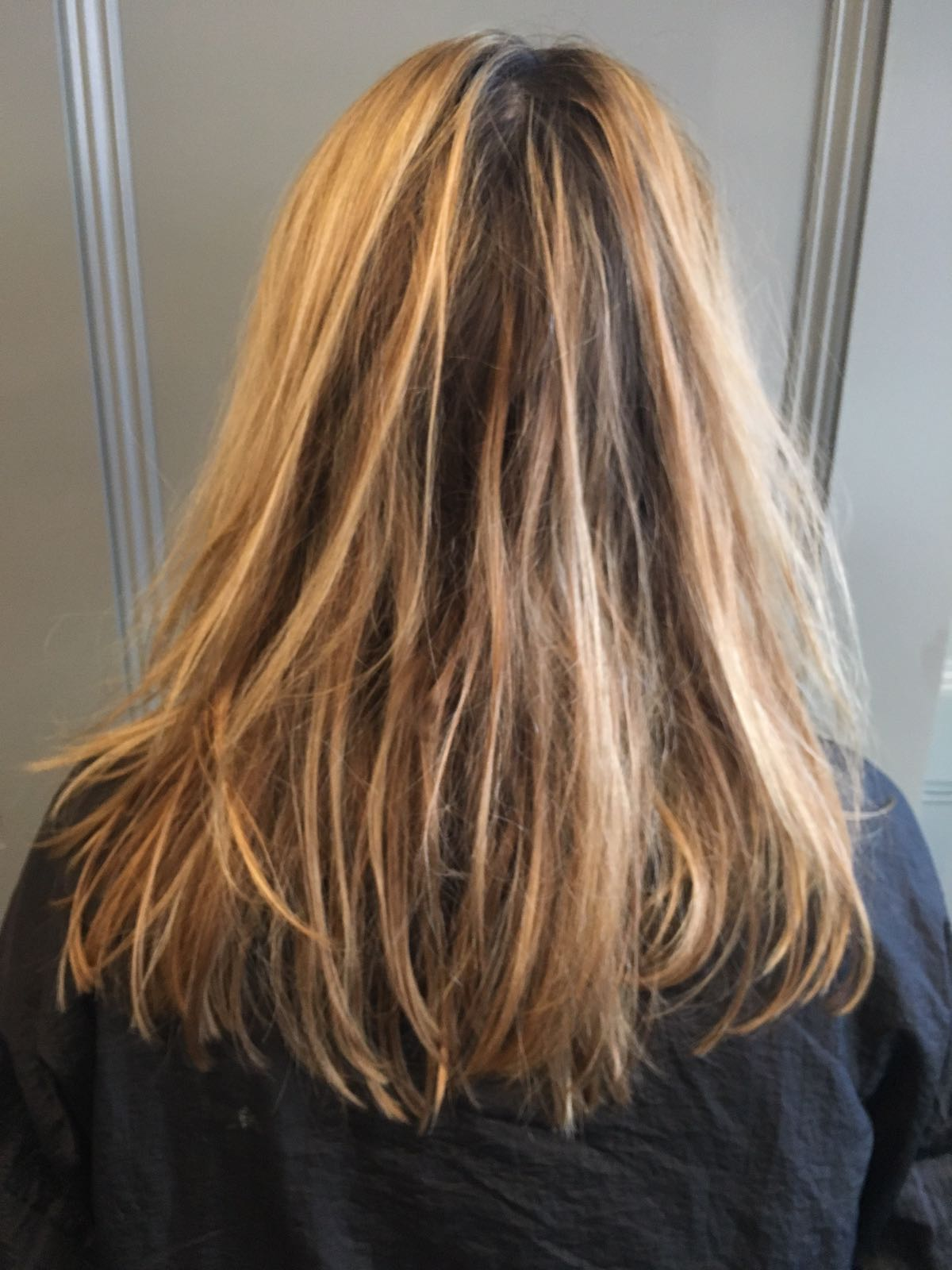 Hair Blonde Highlights