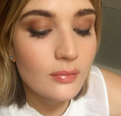 Shimmery Eyeshadow