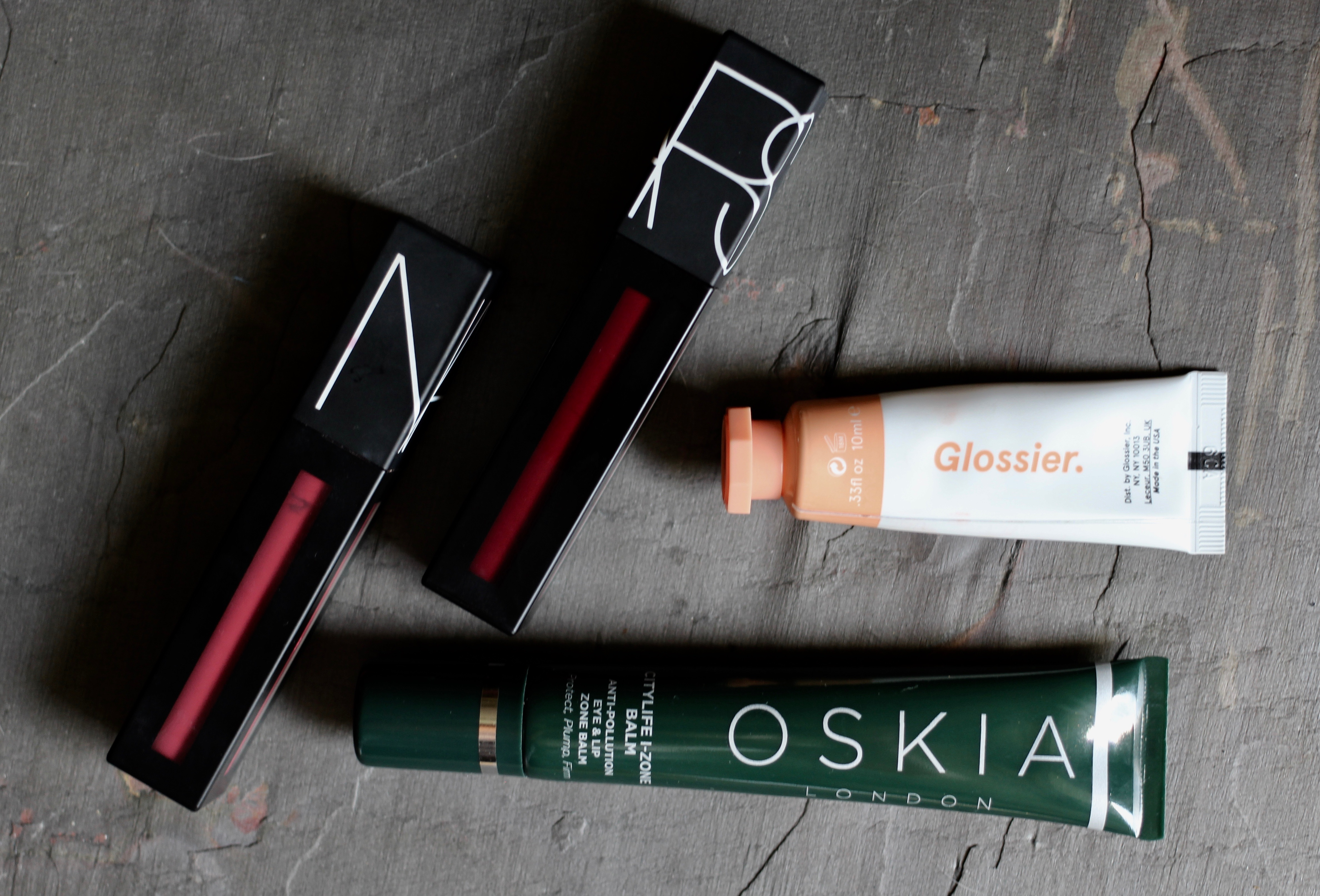 Glossier Uk ad Oskia and Nars