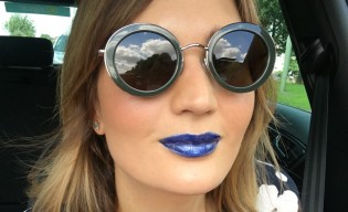 Blue Lipstick Blog