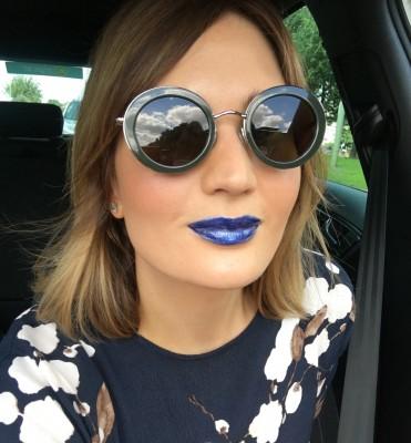 Blue Lipstick Blog