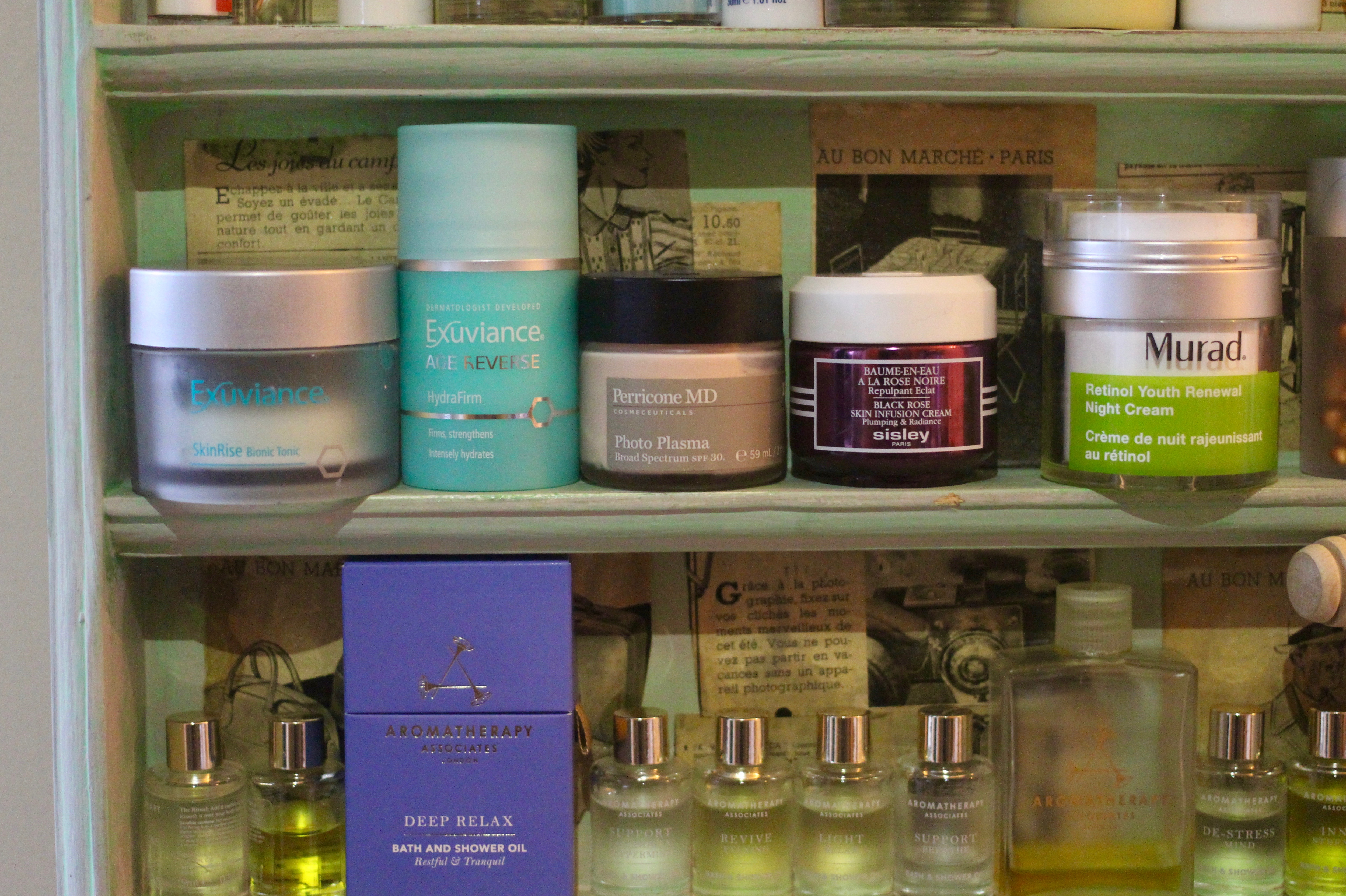 Skincare Shelf
