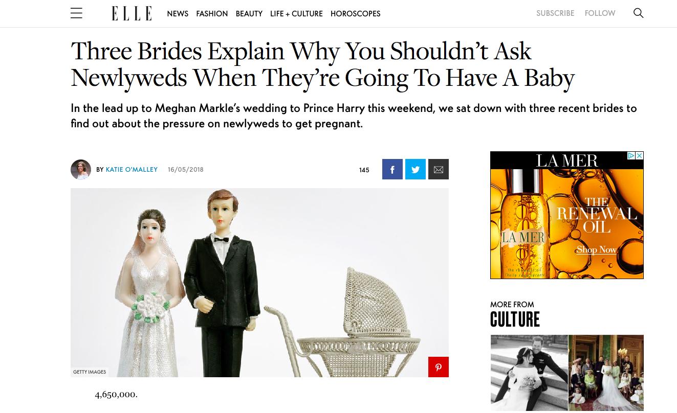 ELLE Brides
