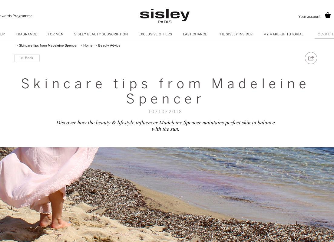 Sisley UK